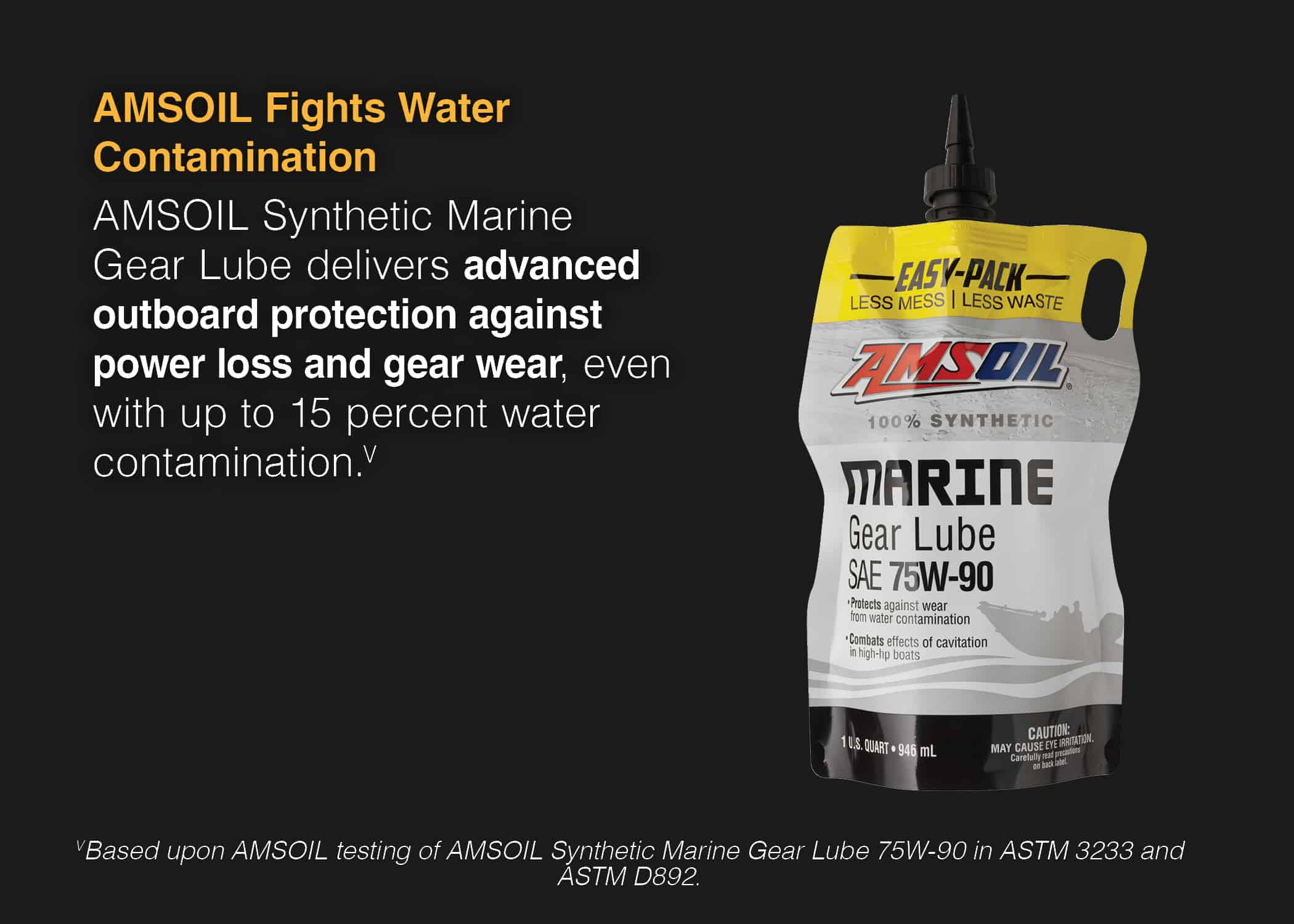 Synthetic Marine Gear Lube