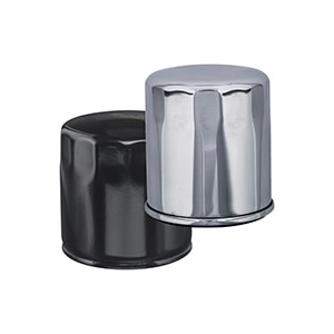 AMSOIL EaOM Chrome Motorcycle Oil Filters