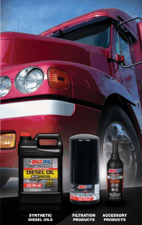 Over the Road Truck Oil