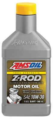 Z-ROD 10W-30 Synthetic Motor Oil
